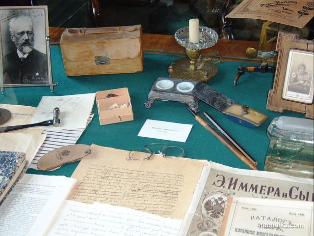 В кабинете писателя. Фото Т.В.Кулаковой