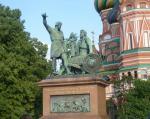 Памятник Минину и Пожарскому на Красной площади в Москве