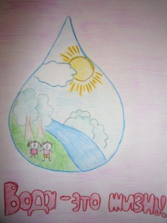 Призываем бережно относиться к воде