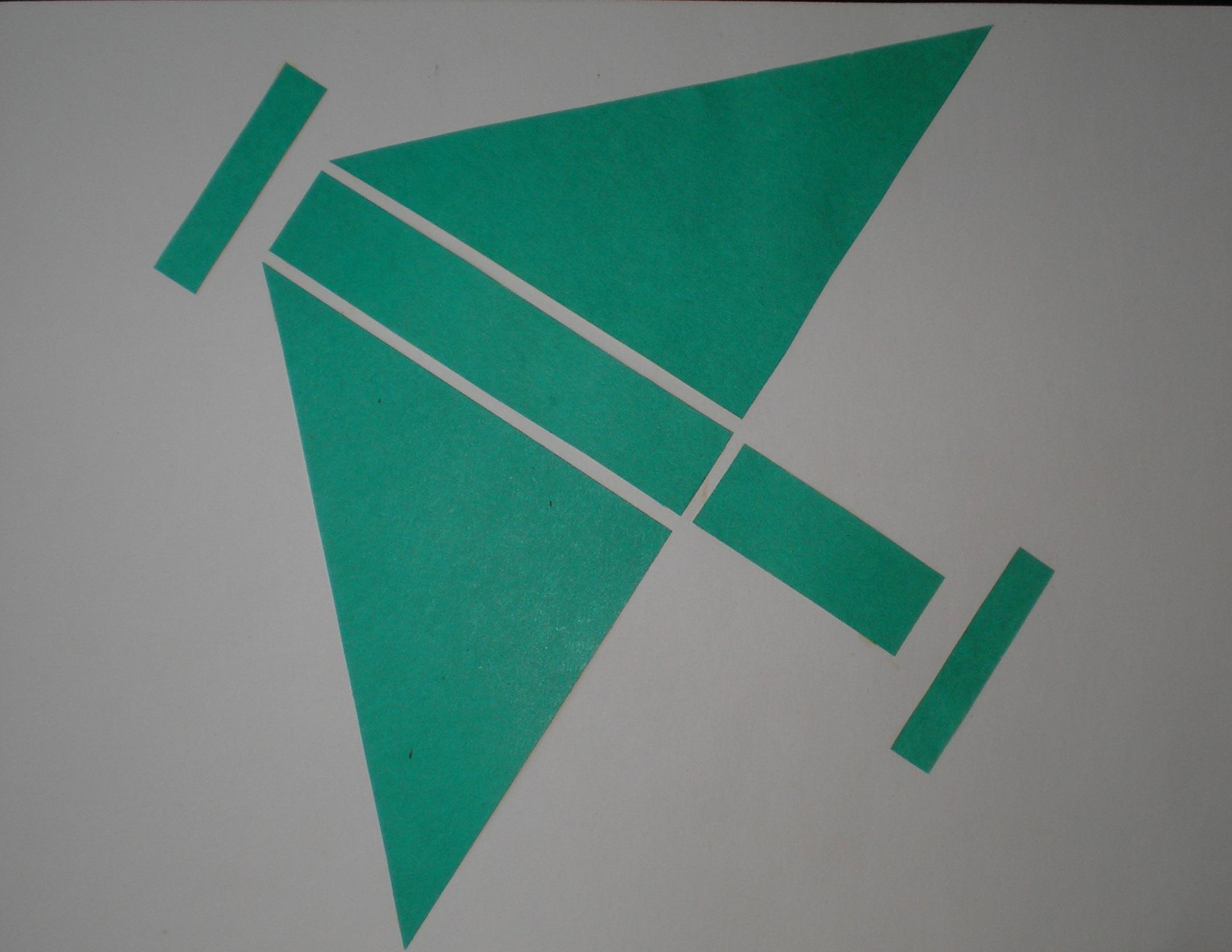 схема конструирование домика из бумаги в старшей группе
