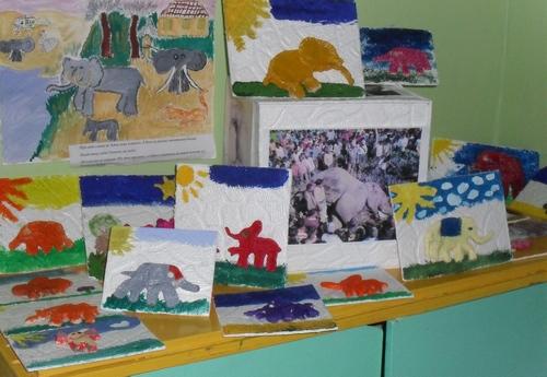 Наши разные слоны