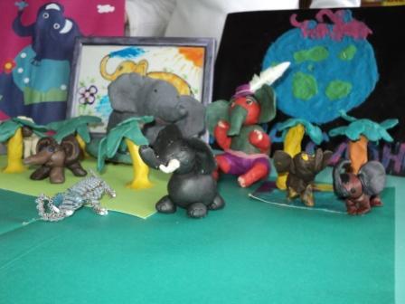 выставка слонов