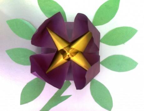 цвето-оригами