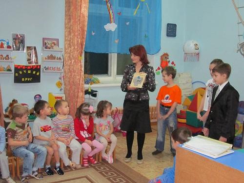 В средней группе детского  сада