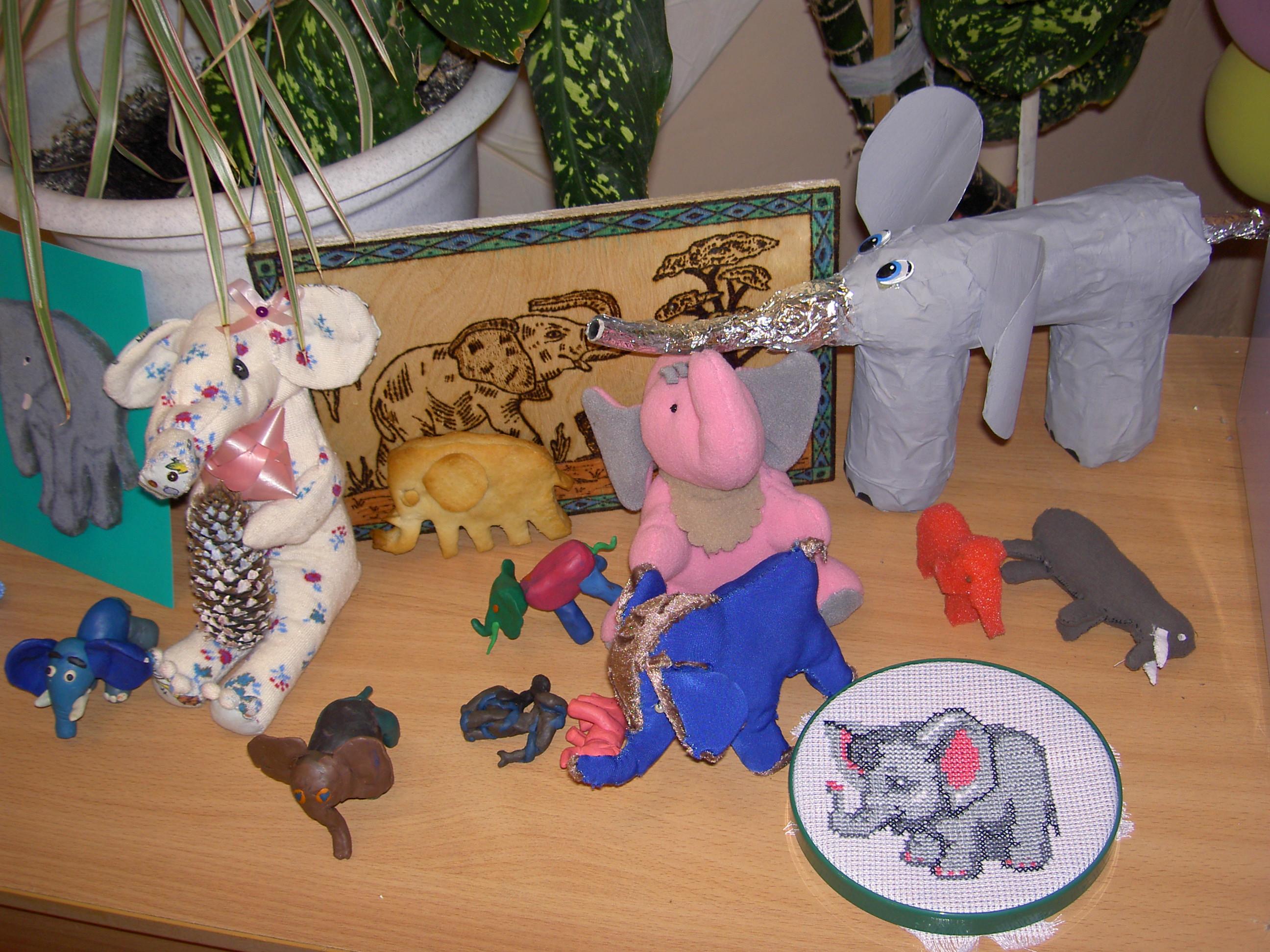 Раскраски о слонах для